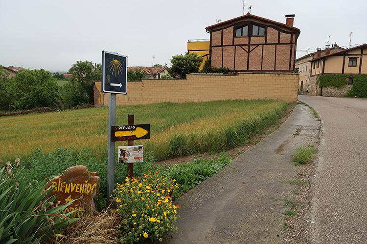 カミーノブログ スペイン巡礼 村