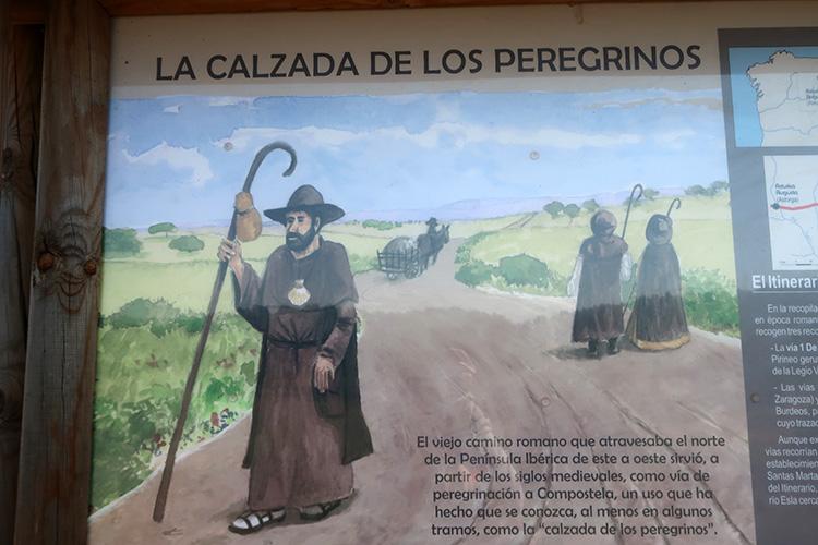サンティアゴ巡礼者 昔の衣装 カミーノ