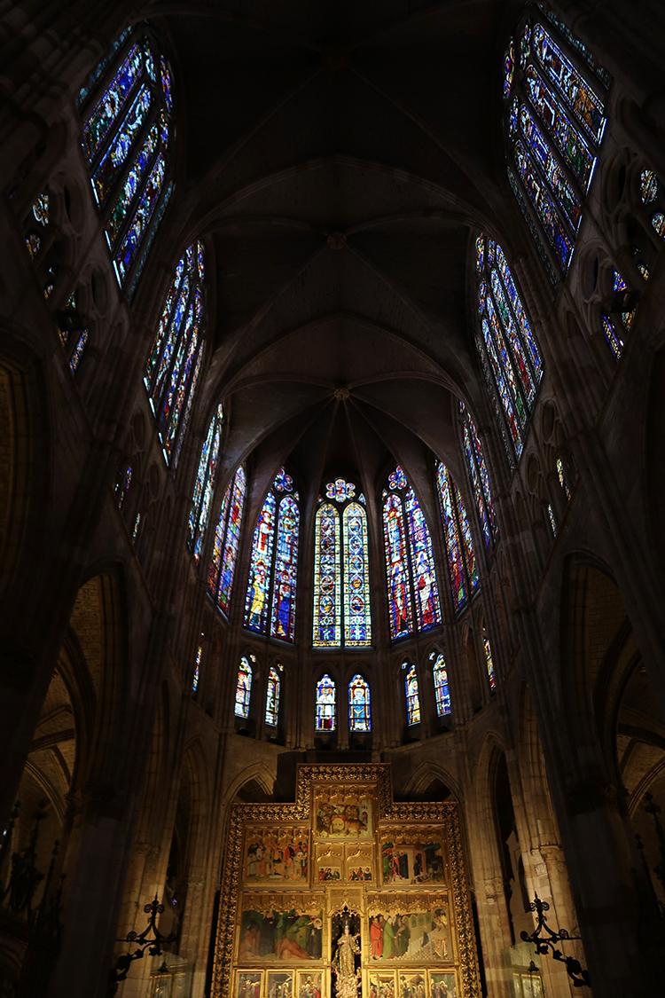 スペイン レオン 大聖堂 カテドラル