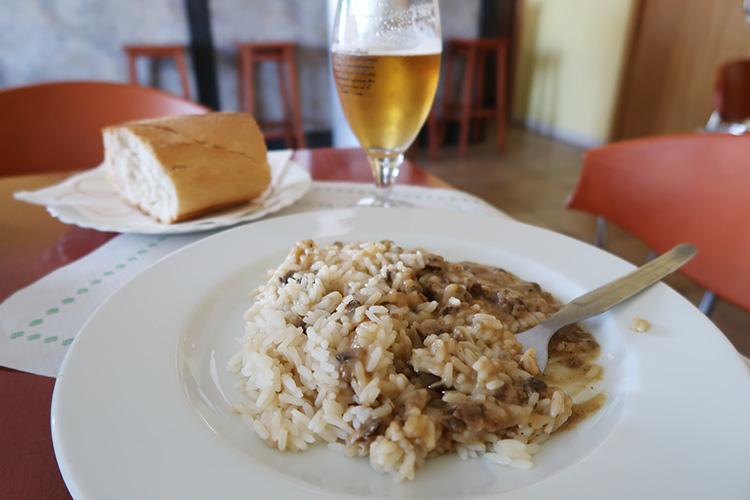 カミーノブログ レオンへの道 食事 ご飯