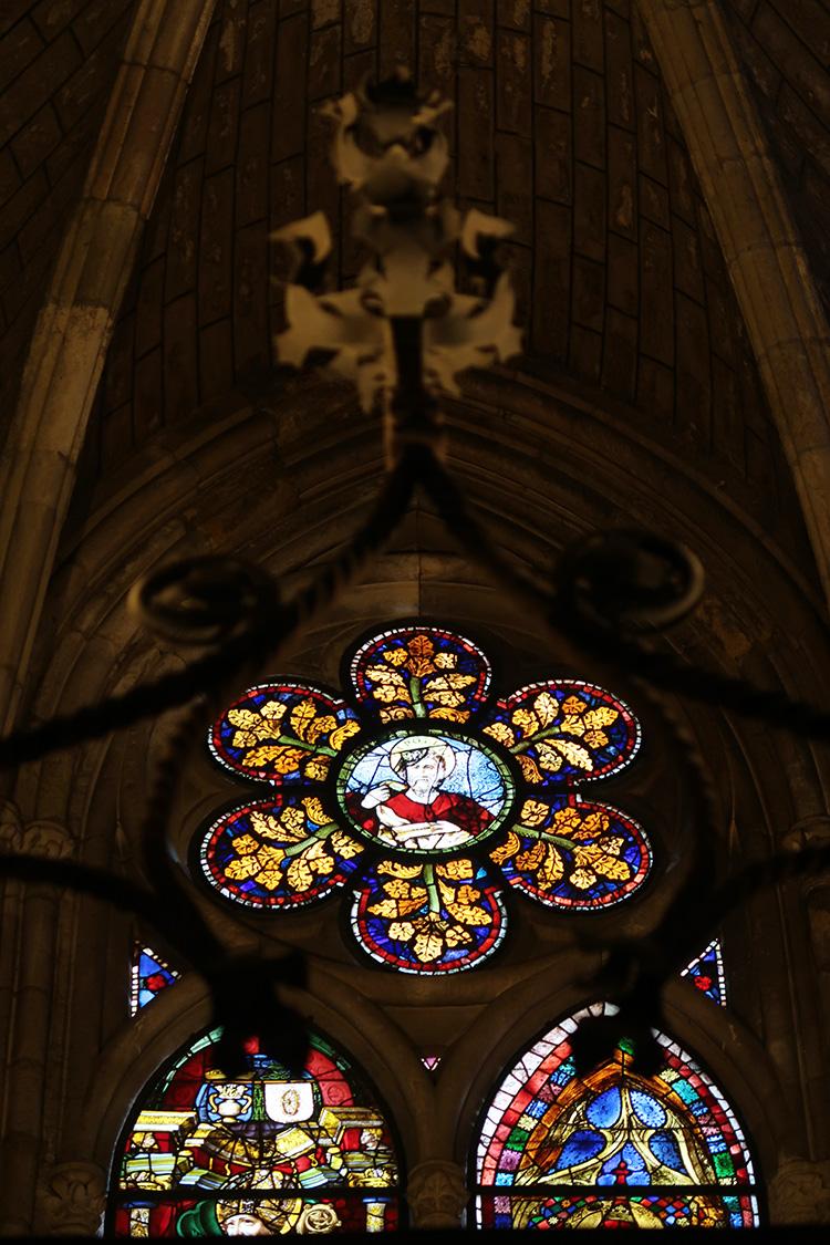 スペイン レオン 大聖堂 カテドラル ステンドグラス