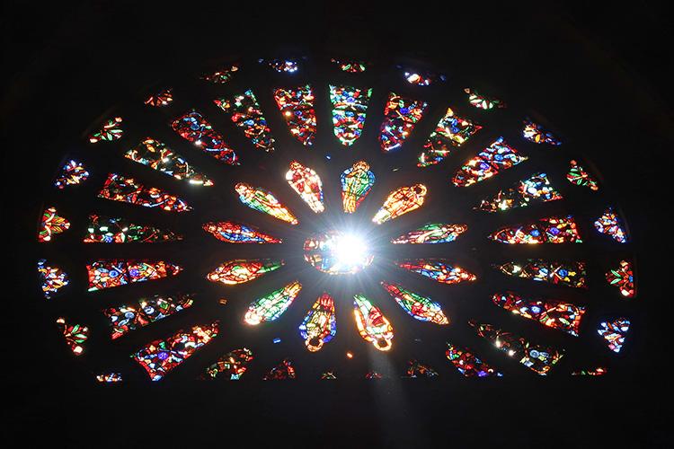 スペイン レオン 大聖堂 カテドラル バラ窓