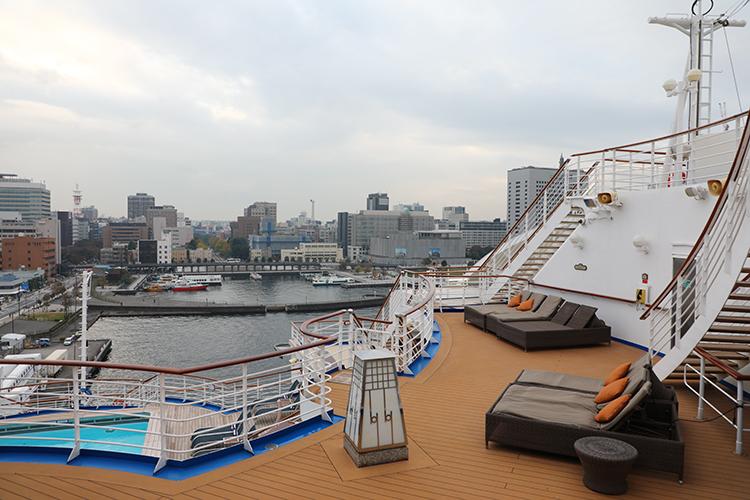 豪華客船 デッキチェア