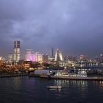 【豪華客船】夜景の横浜からダイヤモンド・プリンセスいざ出航!