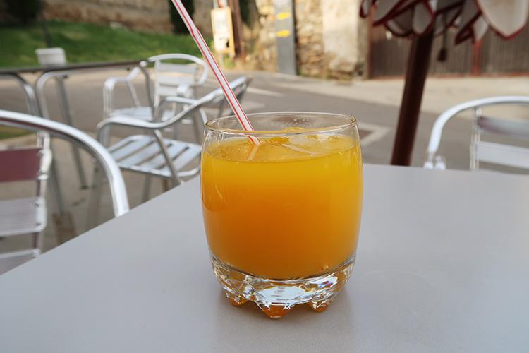 カミーノ 生搾り オレンジジュース