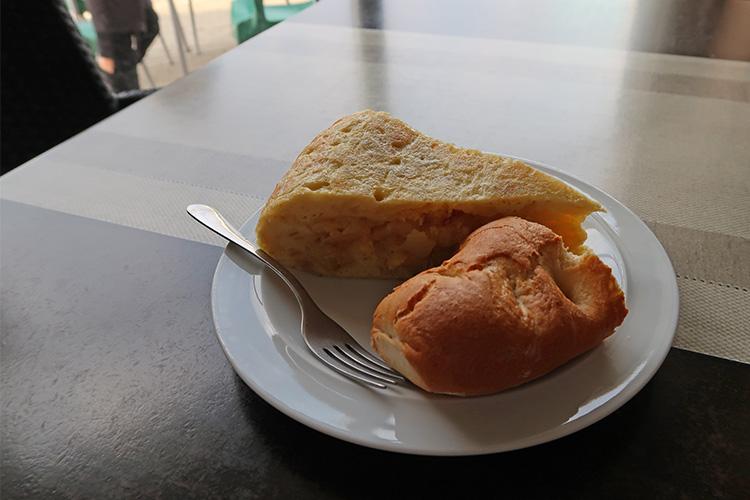 カミーノ バル休憩 ランチ カフェ