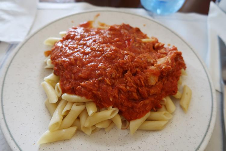 サリア レストラン 食事 スペイン