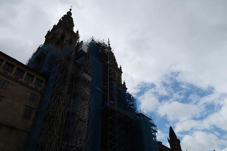 サンティアゴ・デ・コンポステーラ大聖堂 カミーノ最終日