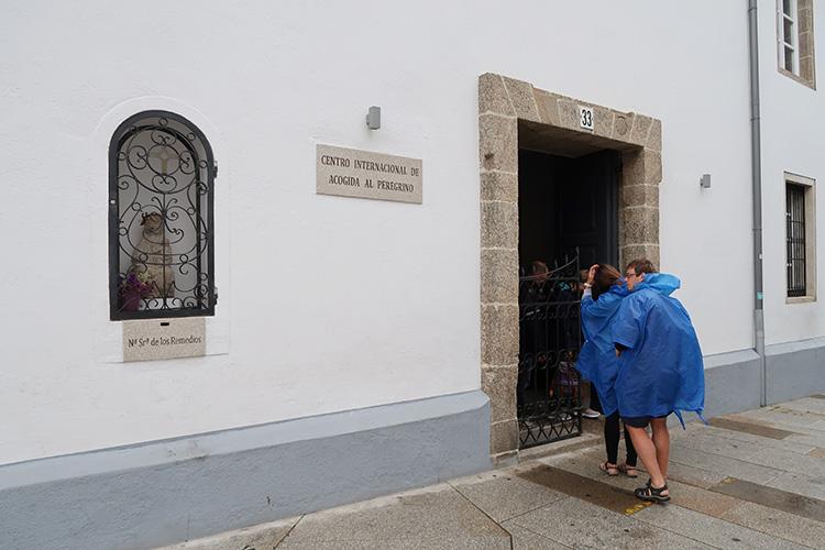 サンティアゴ 巡礼事務所