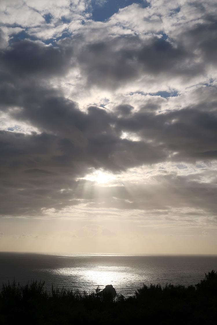 フィステーラ岬 夕日 カミーノ
