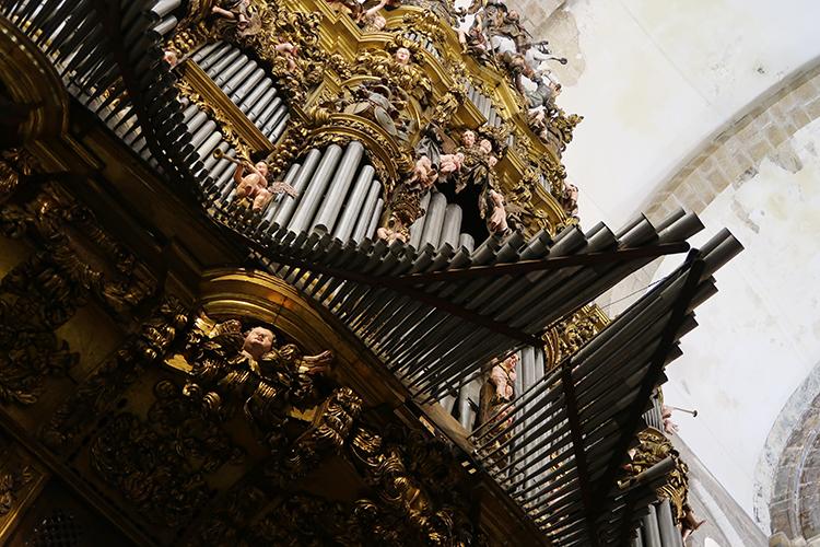 パイプオルガン コンポステーラ 大聖堂