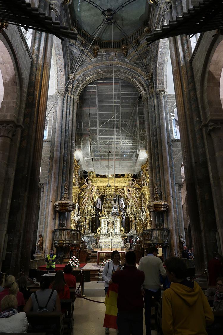 ボタフメイロ サンティアゴ・デ・コンポステーラ大聖堂
