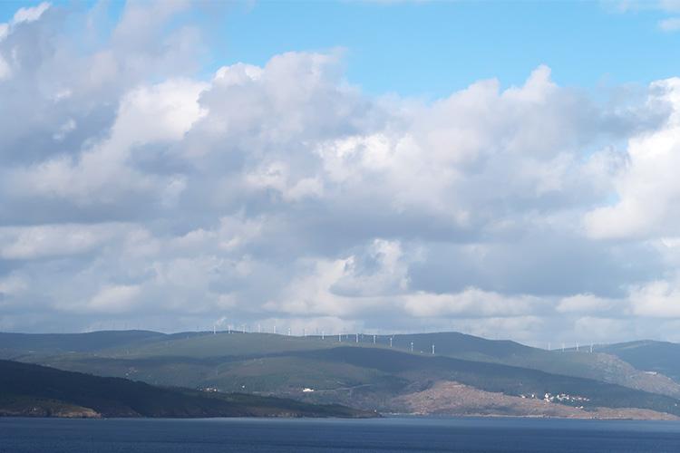 風車 カミーノ フィステーラ岬