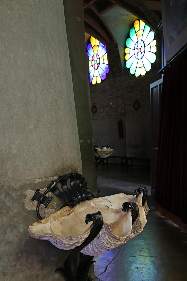 グエル教会 バルセロナ