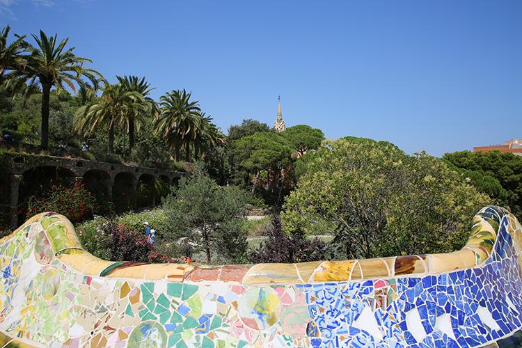 グエル公園 バルセロナ