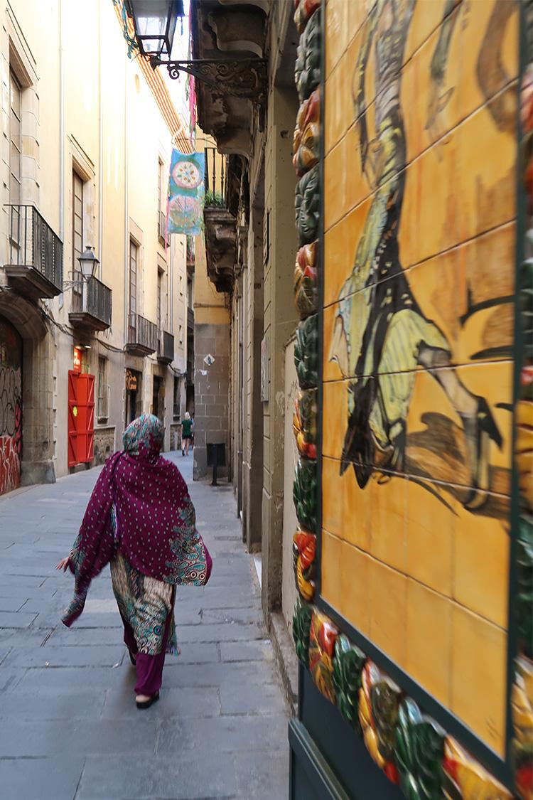 バルセロナ 町歩き