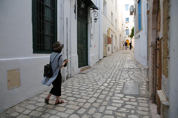 チュニス チュニジア旅行 メディナ