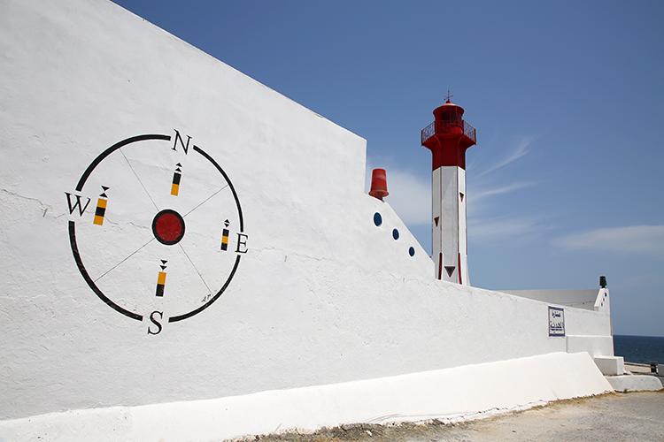 マハディア 灯台