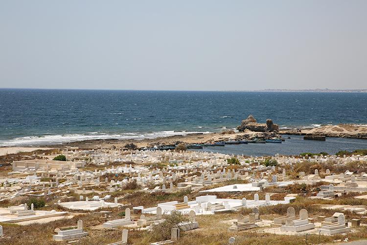 マハディア チュニジア一美しい海