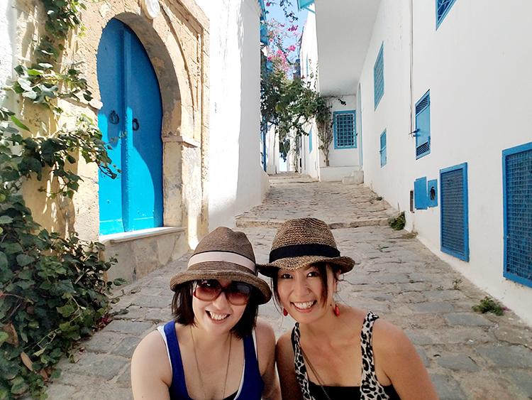 チュニジア 女二人旅