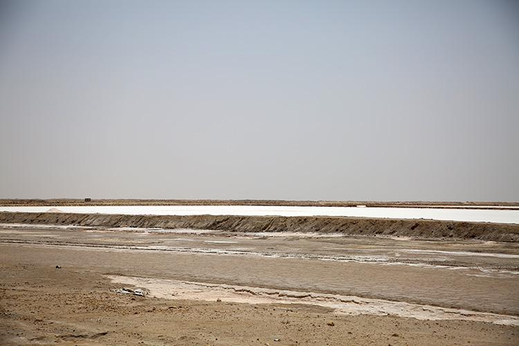 ショット・エル・ジェリド塩湖