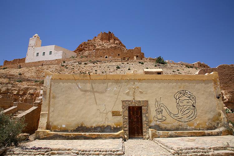 ドゥイレット チュニジア モスク