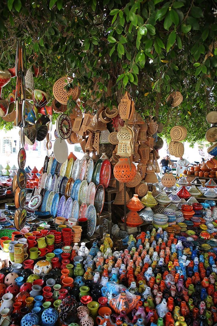 チュニジア ジェルバ島 フームスーク 陶器市
