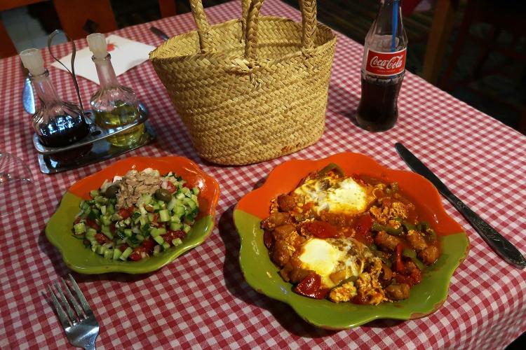 チュニジア料理 オジャ