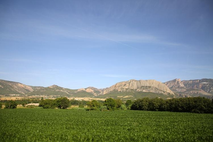 バルセロナからアンドラ公国 バス