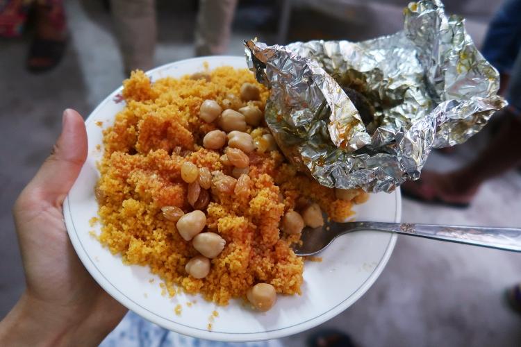 チュニジア料理 クスクス