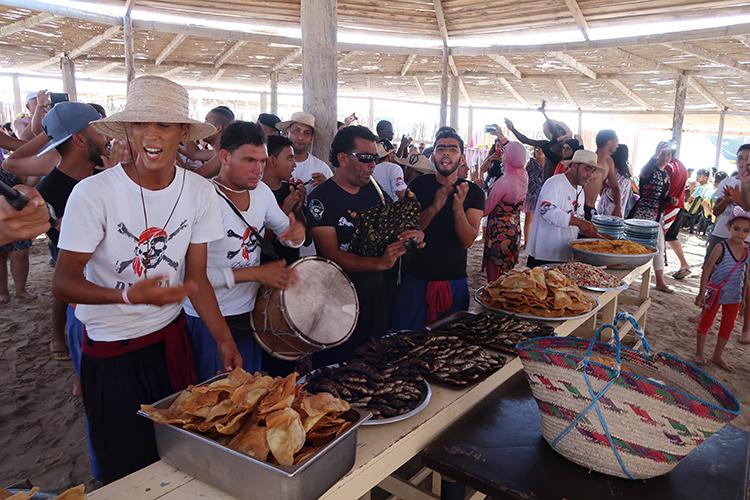 チュニジア ジェルバ島 海賊船 アクティビティ
