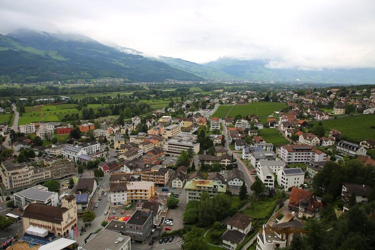 リヒテンシュタイン 町歩き