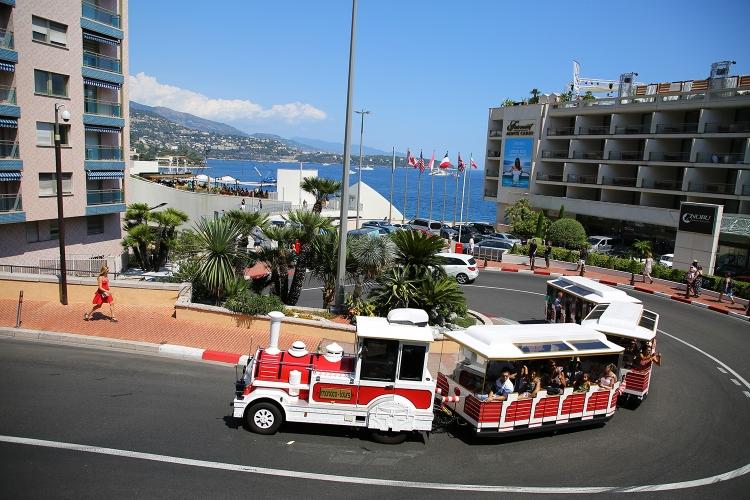 モナコ公国 F1 ヘアピンカーブ