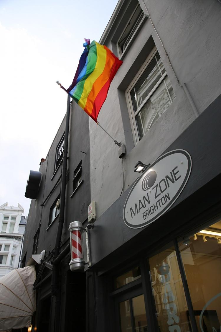 ブライトン ゲイタウン LGBT