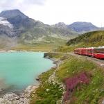 鬼物価スイスへ突入!絶景列車の旅ベルニナ急行