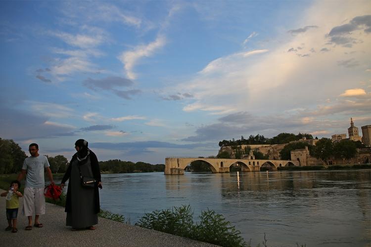 アヴィニョン ローヌ川