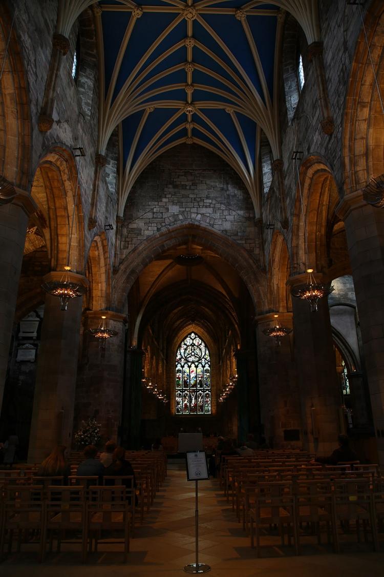 聖ジャイルズ大聖堂 ロイヤルマイル