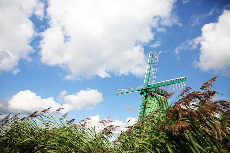 オランダ ザーンセスカンス 風車
