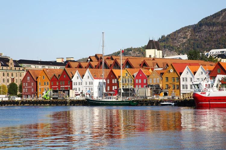 ベルゲン ノルウェー 世界遺産