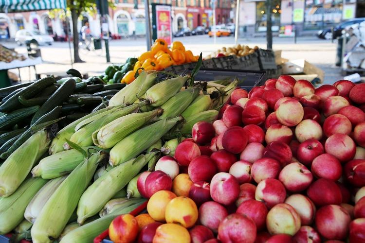 マルメ スウェーデン 野菜市場
