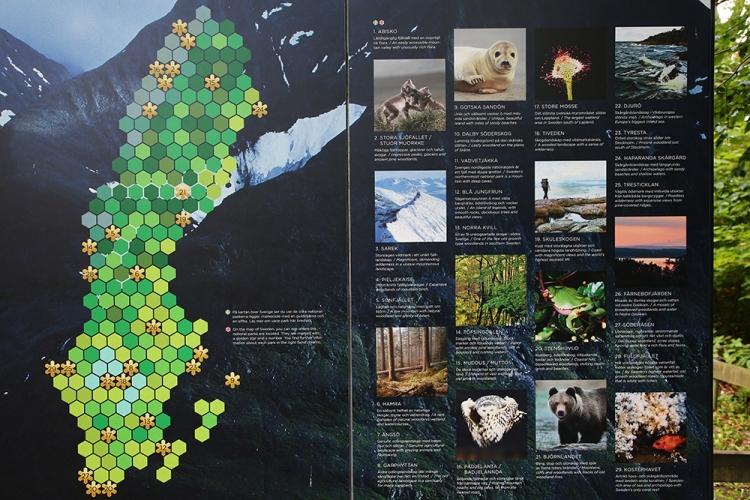 スウェーデン 国立公園
