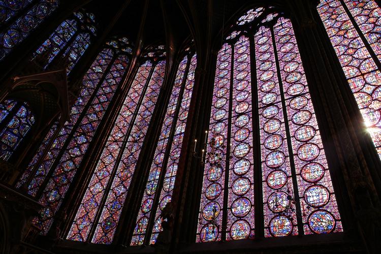 パリ サントシャペル ステンドグラス