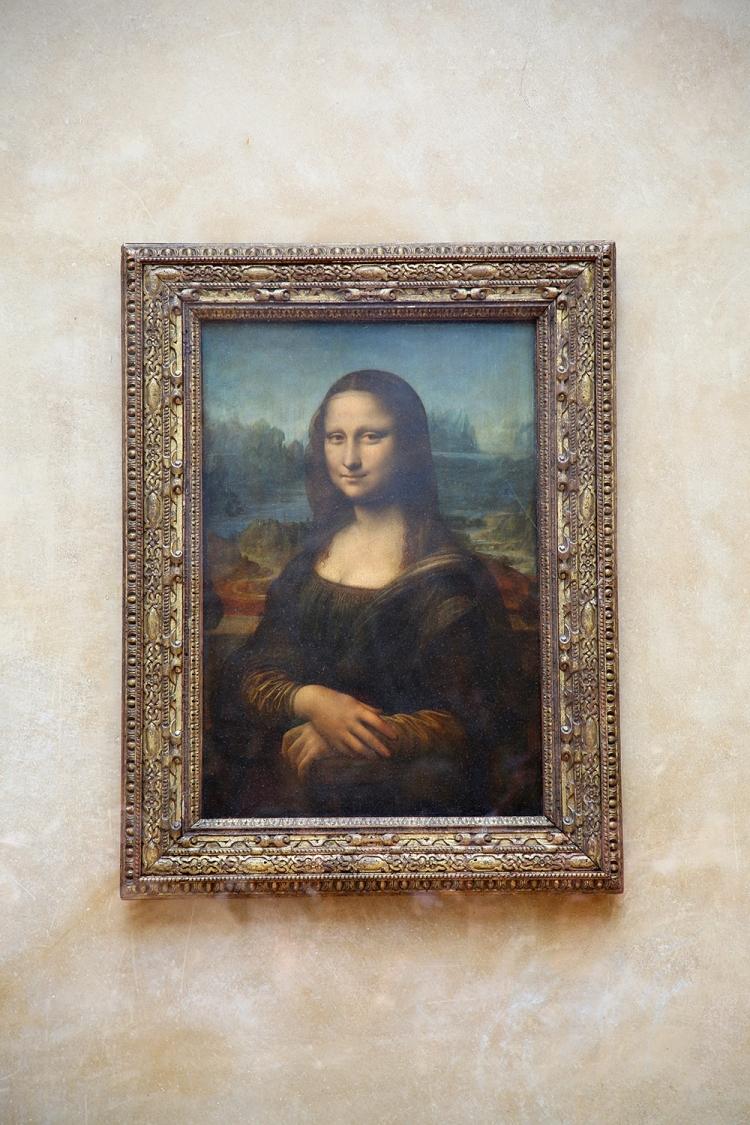 モナリザ ルーブル美術館