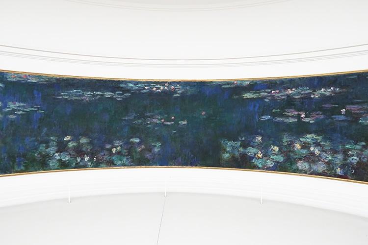 オランジュリー美術館 パリ モネ 睡蓮