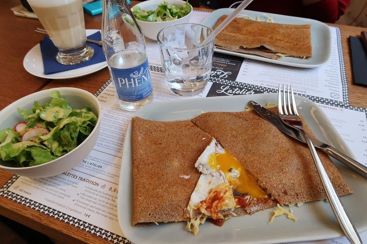 パリ ガレット カフェ