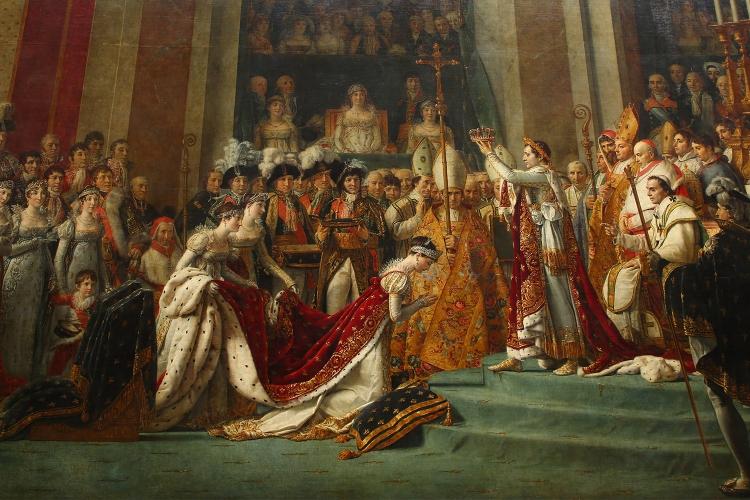 ナポレオン1世の戴冠と皇妃ジョゼフィーヌの戴冠