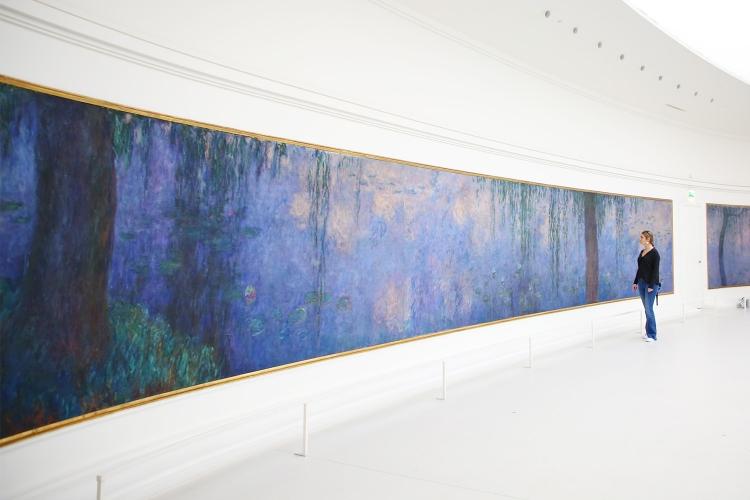 パリ オランジュリー美術館 モネ