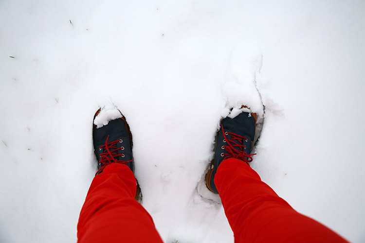 キルナ 積雪 冬 スウェーデン