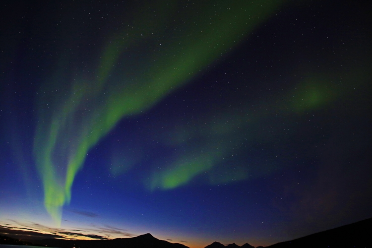 オーロラ 北欧 スウェーデン ノルウェー