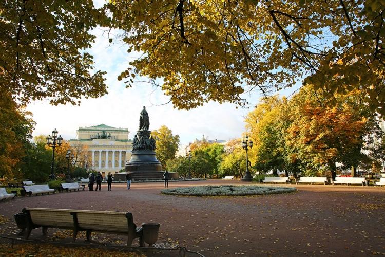 サンクトペテルブルク 町歩き